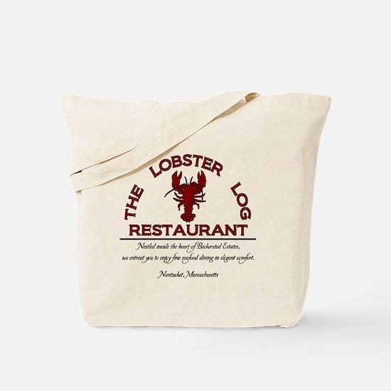 The Lobster Log Restaurant Tote Bag