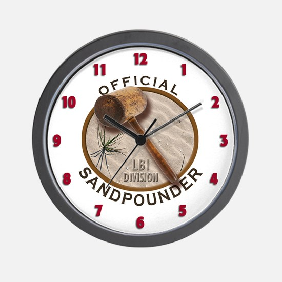 The Sandpounder Wall Clock