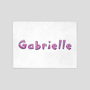 Gabrielle Pink Giraffe 5'x7' Area Rug