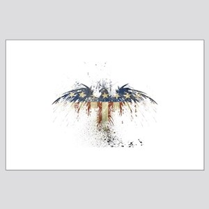 COLORFUL EAGLE Large Poster