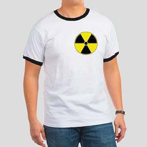 Yellow Radiation Symbol Ringer T