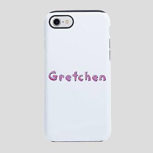Gretchen Pink Giraffe iPhone 7 Tough Case