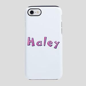 Haley Pink Giraffe iPhone 7 Tough Case