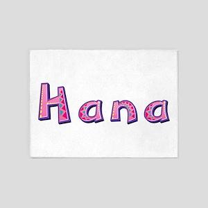 Hana Pink Giraffe 5'x7' Area Rug