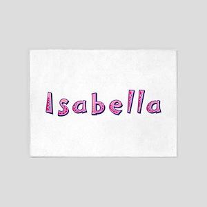 Isabella Pink Giraffe 5'x7' Area Rug