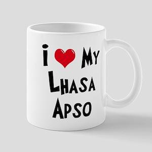 I Love My Lhasa Apso Mug