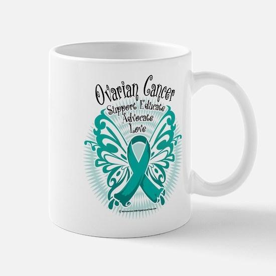 Ovarian Cancer Butterfly 2 Mug