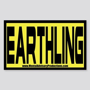 Earthling Sticker