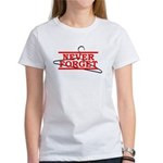 Never Forget (Abortion Hanger) Women's T-Shirt