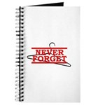 Never Forget (Abortion Hanger) Journal