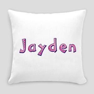 Jayden Pink Giraffe Everyday Pillow