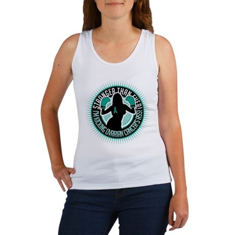 Ovarian Cancer Stronger Than Women's Tank Top