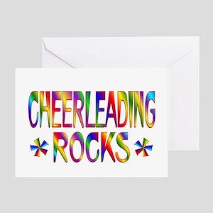 Cheerleading Greeting Card