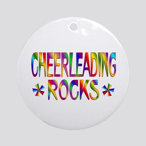 Cheerleading Ornament (Round)