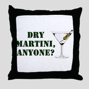 mash martini Throw Pillow