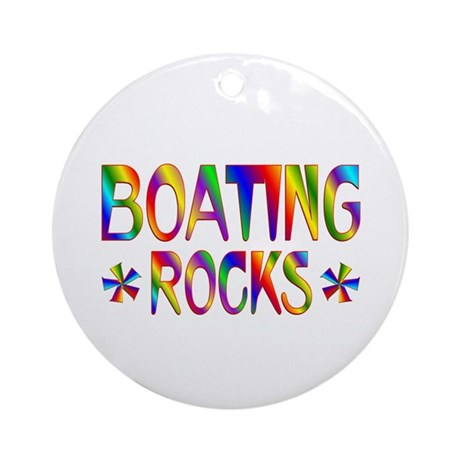 Boating Ornament (Round)