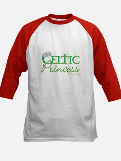 Celtic Princess Kids Baseball Jersey