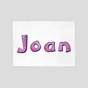 Joan Pink Giraffe 5'x7' Area Rug