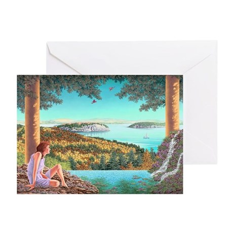 Homage to Maxwell Parrish Greeting Cards (Pk of 10