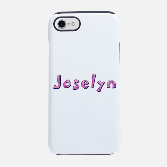 Joselyn Pink Giraffe iPhone 7 Tough Case