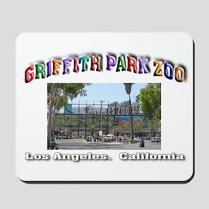 Griffith Park Zoo Mousepad