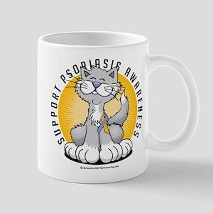 Psoriasis Cat Mug