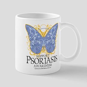 Psoriasis Butterfly Mug