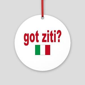 got ziti Ornament (Round)