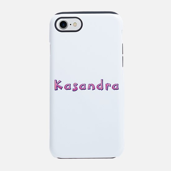 Kasandra Pink Giraffe iPhone 7 Tough Case