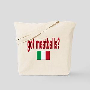 got meatballs Tote Bag