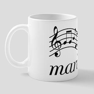 Musical Staff Marimba Mug
