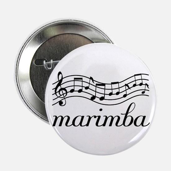 "Musical Staff Marimba 2.25"" Button"