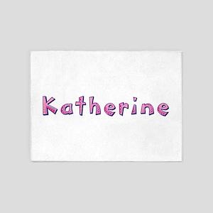 Katherine Pink Giraffe 5'x7' Area Rug