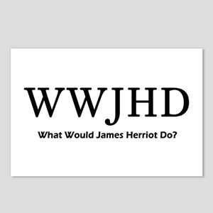 What Would James Herriot Do? Postcards (Package of