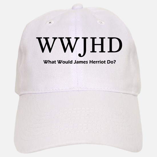 What Would James Herriot Do? Baseball Baseball Cap