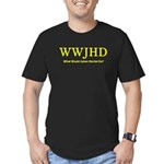 What Would James Herriot Do? Men's Fitted T-Shirt