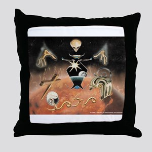 The Coming Throw Pillow