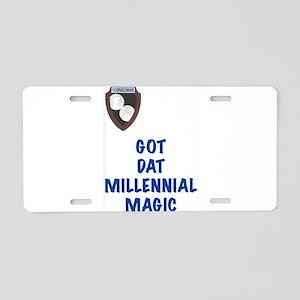 Millennial Magic Aluminum License Plate