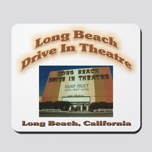 Long Beach Drive In Theatre Mousepad