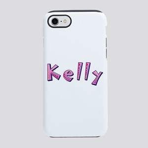Kelly Pink Giraffe iPhone 7 Tough Case