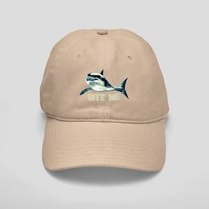 Bite Me Shark Cap