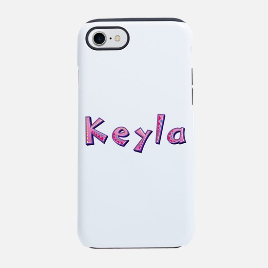 Keyla Pink Giraffe iPhone 7 Tough Case