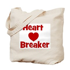 Heart Breaker with heart Tote Bag