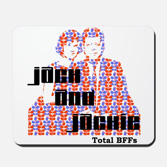 Jack and Jackie Totally BFFs Mousepad