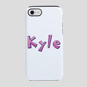 Kyle Pink Giraffe iPhone 7 Tough Case