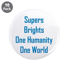 """Supers/Brights 3.5"""" Button (10 pack)"""
