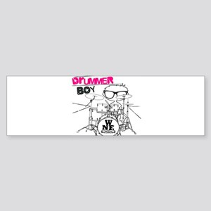Drummer Boy Sticker (Bumper)