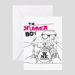 Drummer Boy Greeting Card