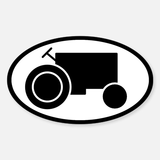 Tractor Oval Decal