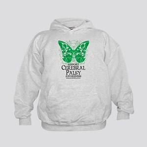 Cerebral Palsy Butterfly 2 Kids Hoodie